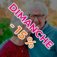 Billet senior de 60 ans et plus utilisable le dimanche